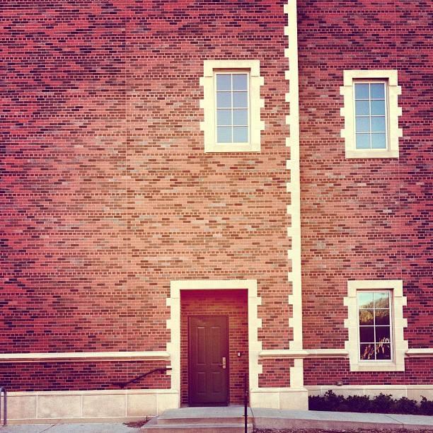 Doorway in Red