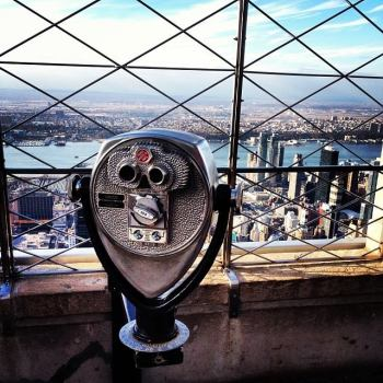 Atop the Empire State Building