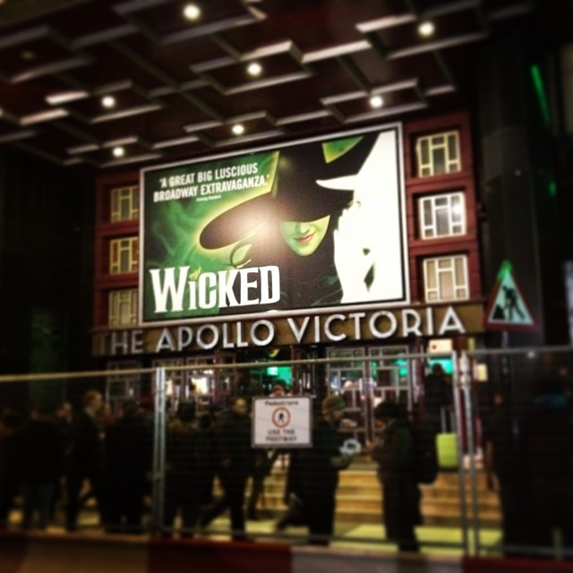 We saw Wicked in London. It was quite spectacular and I loved it.