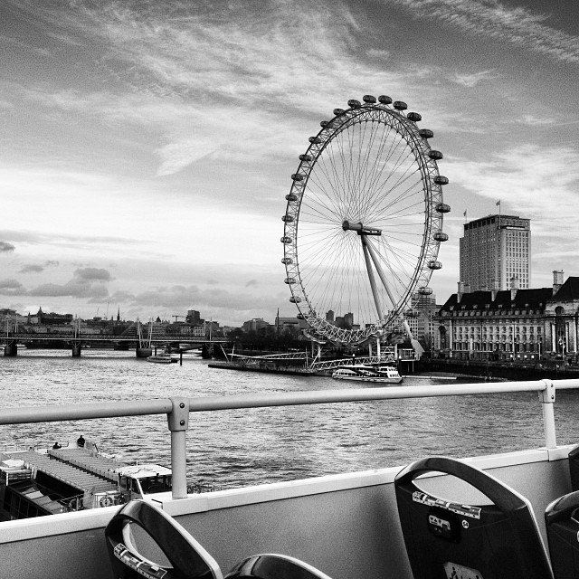 We took a bus ride around the city to see some of the sights. Unfortunately, I had desperately wanted to ride the London Eye, but it was closed for construction the entire time we were in London. I was still able to admire it from afar though.