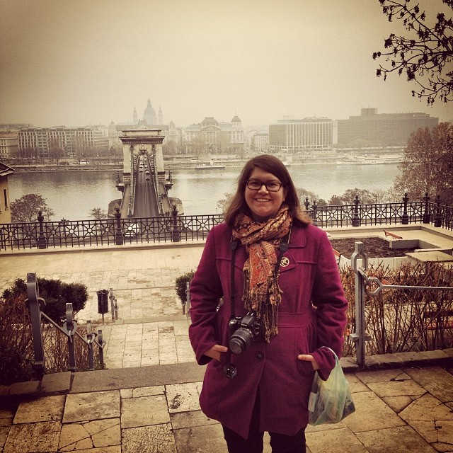 We walked across the famous Chain Bridge that separates the Buda side from the Pest side of Budapest. We traveled up the stairs to Buda Castle. I'm fairly certain I left part of my heart in this city.