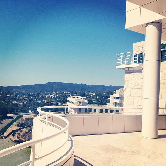 One of the best museums I've been to. Such a glorious set of buildings and gardens. Every angle was interesting and engaging. I could have spent days at the Getty Center. So. Good.
