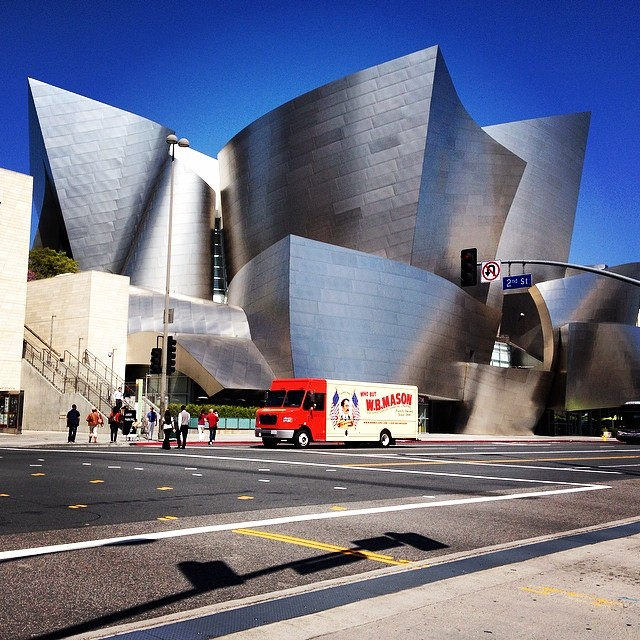 I loved seeing Frank Gehry's design. He's a fabulous architect and I enjoyed exploring the exterior of this building.